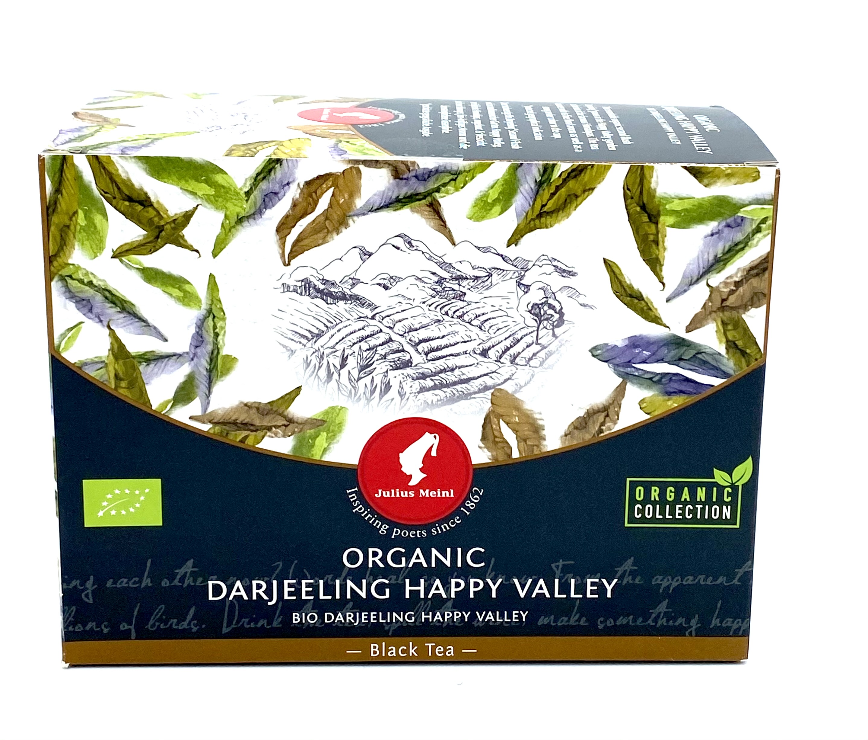 Julius Meinl Bio Darjeeling Happy Valley (20 Teebeutel)